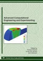 Advanced Computational Engineering and Experimenting