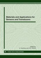 Materials and Applications for Sensors and Transducers