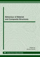 Behaviour of Material and Composite Structures