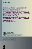Counterfactual Thinking-- Counterfactual Writing