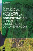 Language Contact and Documentation