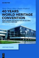 40 years World Heritage Convention