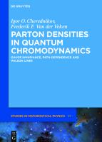 Parton Densities in Quantum Chromodynamics