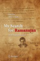 My Search for Ramanujan