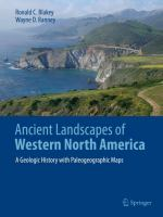 Ancient Landscapes Of Western North America: A Geologic History With Paleogeographic Maps (2018)