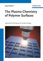 Plasma Chemistry of Polymer Surfaces