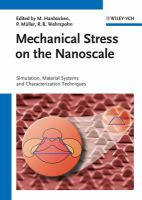 Mechanical Stress on the Nanoscale