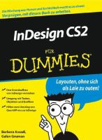 InDesign CS2 fur Dummies