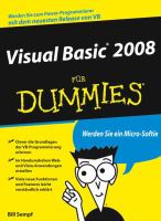 Visual Basic 2008 fur Dummies