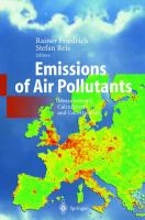 Emissions of Air Pollutants: Measurements, Calculations & Uncertainties