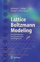 Lattice Boltzmann Modeling