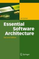 Essential Software Architecture, Second Edition