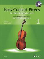 Easy concert pieces for violoncello and piano