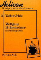 Wolfgang Hildesheimer