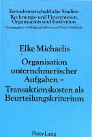 Organisation unternehmerischer Aufgaben