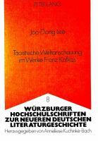 Taoistische Weltanschauung im Werke Franz Kafkas