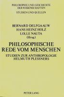 Philosophische Rede vom Menschen