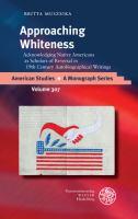 Approaching Whiteness