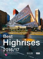 The International Highrise Award 2016