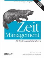 Zeitmanagement fur Systemadministratoren