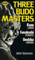 Three Budo Masters