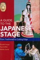 A Guide to the Japanese Stage