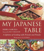MY JAPANESE TABLE : A Lifetime of Cooking with Friends and Family - My Japanese Table