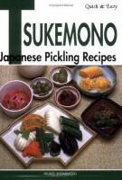 Quick & Easy Tsukemono