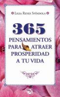 365 pensamientos para atraer prosperidad a tu vida