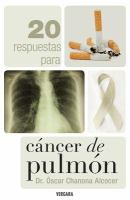 20 respuestas para cáncer de pulmón
