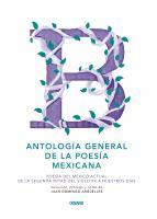 Antología general de la poesía mexicana.B