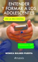 Entender y formar a los adolescentes en la era digital