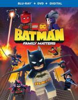 LEGO DC: Batman: Family Matters (BD/DVD Combo)