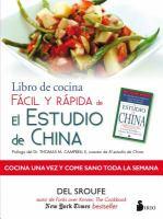 Libro de cocina fácil y rápida de el Estudio de China
