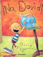 ¡No, David!