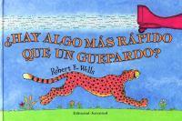 Hay algo más rápido que un guepardo?