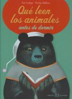 ¿Qué leen los animales antes de dormir?