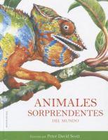 Animales sorprendentes del mundo