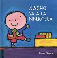 Nacho va a la biblioteca