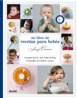 Mi libro de recetas para bebés