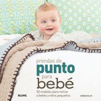 Prendas de punto para bebe