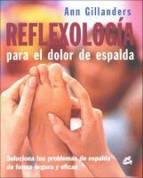 Reflexología para el dolor de espalda