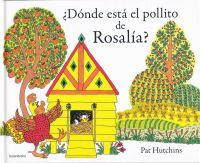 ¿Dónde está el pollito de Rosalía
