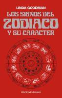 Los signos del zod�iaco y su car�acter