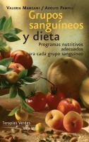 Grupos sanguíneos y dieta