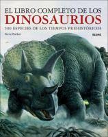 El libro completo de los dinosaurios