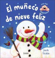 El muneco de nieve feliz