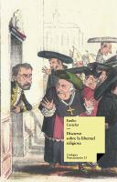 Discurso sobre la libertad religiosa