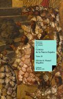 Crónica de la Nueva España