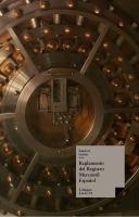 Reglamento del registro mercantil español
